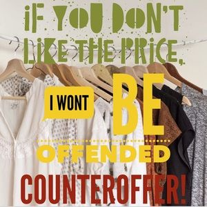 I love a good counteroffer...if you like the price